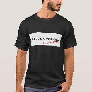 Camiseta Paleontologia/sonho!