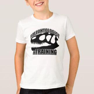 Camiseta PALEONTOLOGIST no treinamento