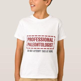 Camiseta Paleontologist profissional