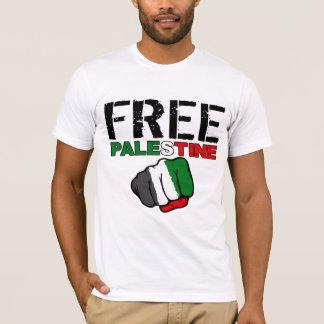 """Camiseta Palestina livre com """"do rio citações ao mar"""""""