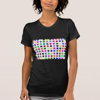 Camiseta Paleta de cores ruidosa abstrata