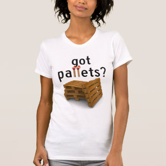 Camiseta páletes obtidas? - meninas