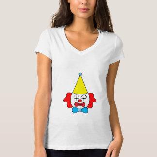 Camiseta Palhaço - cara engraçada