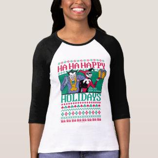 Camiseta Palhaço de Batman | boas festas & Harley Quinn