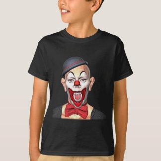 Camiseta Palhaço do assassino que olha à parte dianteira