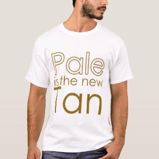Camiseta Pálido é o Tan novo