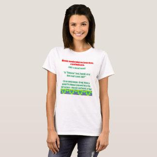 Camiseta Palindrome de Loch Ness