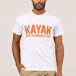 Camiseta Palindrome do caiaque