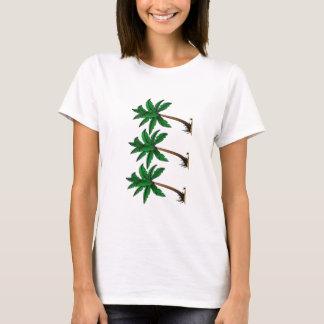 Camiseta Palmas de balanço