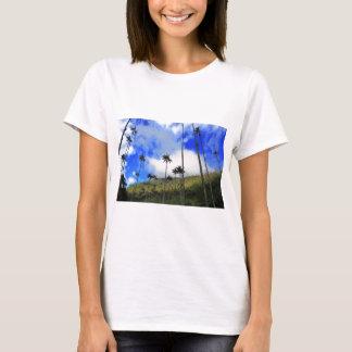 Camiseta Palmas de cera de Qunidio no vale de Cocora de