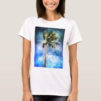Camiseta Palmeira em uma tempestade tropical