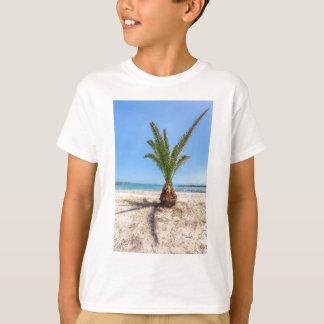 Camiseta Palmeira tropical no Sandy Beach