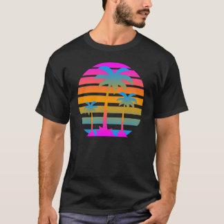 Camiseta Palmeiras retros do por do sol do tigre de Corey