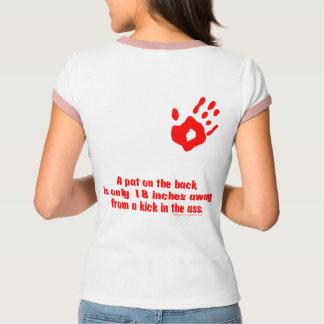 Camiseta Pancadinha na parte traseira