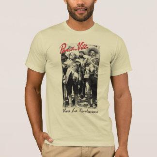 Camiseta Pancho Villa e guerra mexicana de Contreras