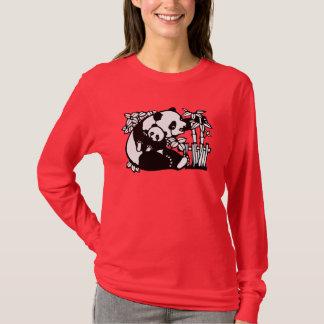 Camiseta Panda com bebê