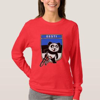 Camiseta Panda do ciclismo de Estónia