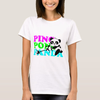 Camiseta Panda do Sibilo-Pong