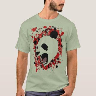 Camiseta Panda do Splatter do sangue