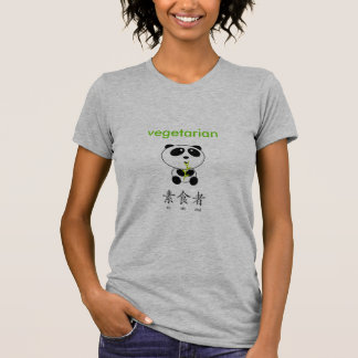 Camiseta Panda do vegetariano