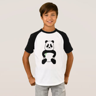 Camiseta Panda dos desenhos animados