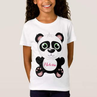 Camiseta Panda personalizada