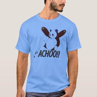 Camiseta Panda Sneezing engraçada