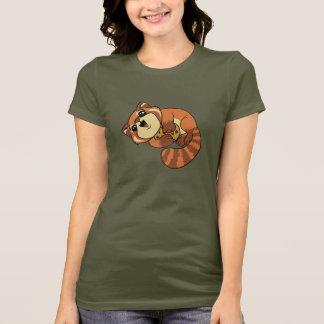 Camiseta Panda vermelha!