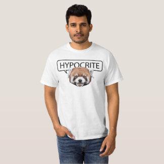 Camiseta Panda vermelha da hipócrita