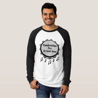 Camiseta Pandeiro preto e branco