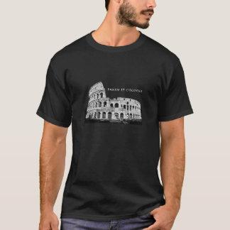 Camiseta Panem e Circenses - roupa escura