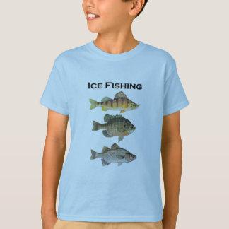 Camiseta Panfish da pesca do gelo