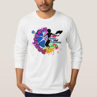 Camiseta Panorama/camisa lembrança de FlagWoman