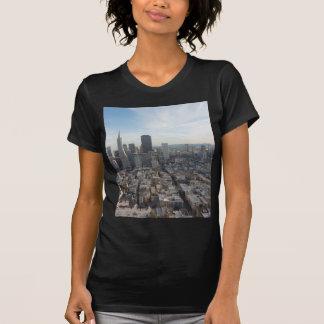 Camiseta Panorama da skyline de San Francisco