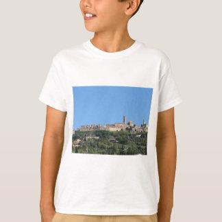 Camiseta Panorama da vila de Volterra, província de Pisa