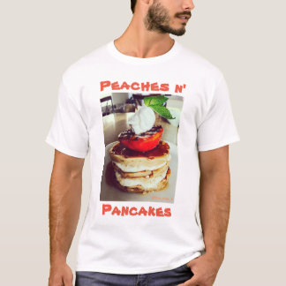 Camiseta Panquecas do n dos pêssegos