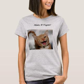Camiseta Panquecas do Vegan