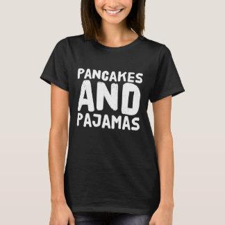 Camiseta panquecas e pijamas