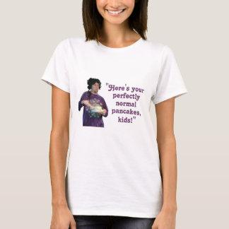 """Camiseta """"Panquecas perfeitamente normais"""""""