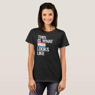 Camiseta Pansexuality - este é o que a bandeja olha como -