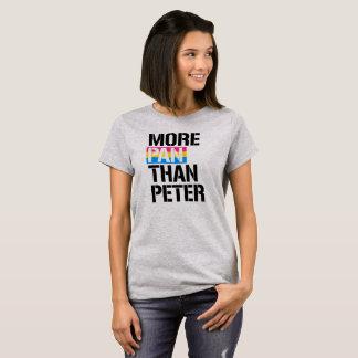 Camiseta Pansexuality - mais bandeja do que Peter - - LGBTQ