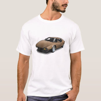 Camiseta Pantera de bronze no t-shirt branco