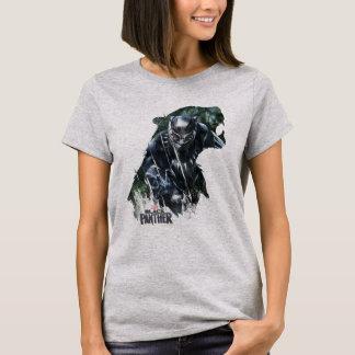 Camiseta Pantera preta | na selva