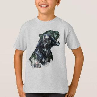 Camiseta Pantera preta   na selva