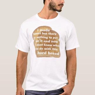 Camiseta pão duro
