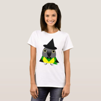 Camiseta papagaio de Senegal do ネズミガシラハネナガインコオウム como a