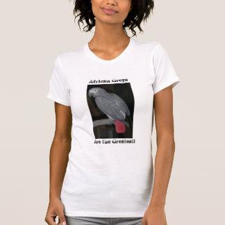Camiseta Papagaio do cinza africano