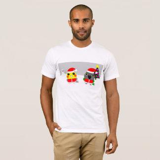 Camiseta papagaio do Cockatiel & do Senegal do オウム como o