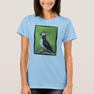 Camiseta PAPAGAIO-DO-MAR SOLITÁRIO - t-shirt do passarinho