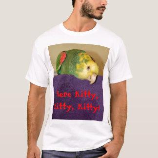 Camiseta Papagaio que chama seu ser humano